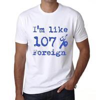 Foreign Tshirt, Im Like Tshirt, Col Rond Homme T-shirt Blanc, Cadeau