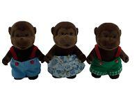 Calico Critters Sylvanian Families Baerenwald Forest Families Gorillas Chimps