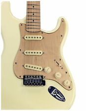 USA hand crafted solid CLEAN Maple STRAT GUITAR SSS Pickguard w/ matching NECK