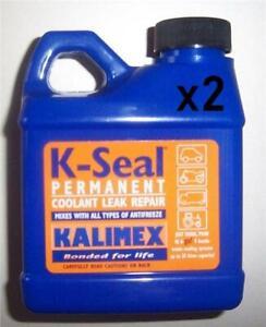 2 x Car Anti Freeze Coolant Leaking Hole Repair Fix Liquid Sealer For Porsche