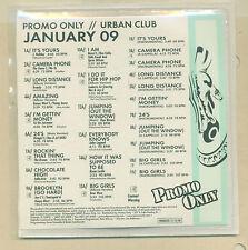 PROMO ONLY / URBAN CLUB / JANUARY 2009