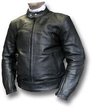GTH TT BLACK MOTORCYCLE BIKER JACKET [72018]