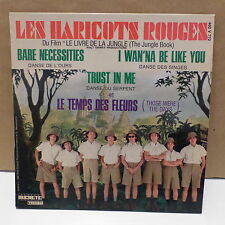 LES HARICOTS ROUGES Bo film Livre de la jungle Bare necessities 460 V 772