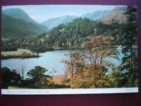 POSTCARD RP CUMBERLAND/ WESTMORLAND HEAD OF ULLSWATER & ST SUNDAY CRAG