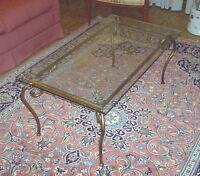 Tavolo Pranzo Tavolino Salotto FERRO BATTUTO  Realizzazioni Personalizzate . 685