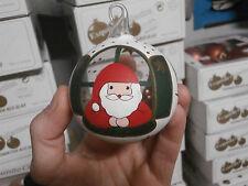 Palla di Natale in vetro dipinta a mano albero addobbo festone palle vintage
