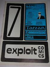 EXPLOIT COMICS  N° 7 ( DEDICATO AL PERSONAGGIO DI  DAN DUNN ) 1978