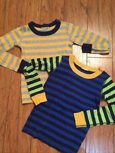 Hanna Andersson 110 5 Boys Pajama Shirts Lot Tops