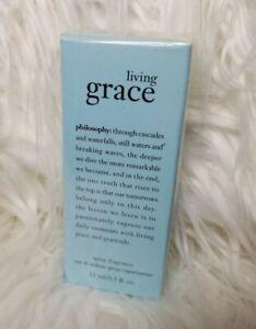 NIB Philosophy Living Grace Sealed Spray EDT .50oz/15ml