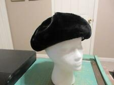 Vintage Union Made Fur Hat Pillbox Style 22 Size