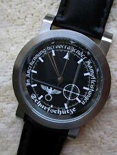 Armbanduhr Zifferblatt - Scharfschütze -  Ronda schweizer Quarzuhrwerk - 62