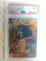 1994 Collector's Choice Michael Jordan Silver Signature PSA 9.  Population 30