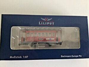 new Liliput HOe Scale Passenger coach B13 L371115 Zillertalbahn mayrhofen