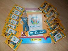 Panini Euro 2020 Preview  Belgium version empty album + 14 pochettes