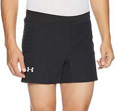 Under Armour Sz XL SPEEDPOCKET Swyft 5 Inch Mens Running Shorts - Black