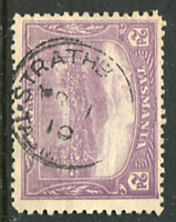 TASMANIA: (16464) STRATHBLANE postmark/cancel