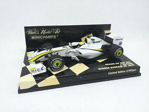 MINICHAMPS 1:43 - Brawn Gp Bgp 001 J.Button Winner Bahrain Gp 2009 400090322