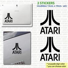 atari x2  video games retro arcade pegatina sticker Aufkleber  vinilo vinyl