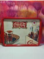 Vintage Blech Coca Cola Tablett# Sehr Selten