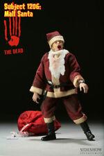 "Sideshow THE DEAD SUBJECT 1206 MALL SANTA 1/6 scale 12"" horror figure zombie"