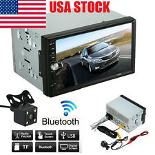 HD Touch Scree Car Stereo MP5 MP3 Player Radio Bluetooth USB AUX Parking Camera