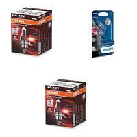 H4 12V 60/55W Night Breaker Silver bis 100% 2St OSRAM + W5W WhiteVision