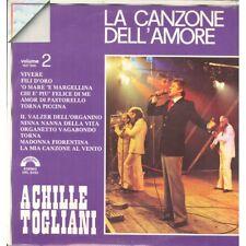 Achille Togliani Lp Vinile La Canzone Dell`Amore Volume 2 Cinevox Sigillato