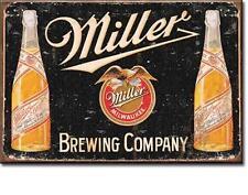 Miller Bier Vintage Design USA Beer Werbung Magnet Magnetschild