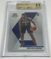 2019-20 Mosaic Zion Williamson Rookie RC #209 BGS 9.5 TRUE GEM MINT TOP 3 Card