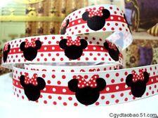 "Minnie Mouse cinta 7/8"" ancho nuevo vendedor Reino Unido Libre P&P"