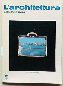 L'architettura cronache e storia n. 253 1976 Bruno Zevi Rino Tami Giacomo Donato