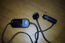 BELKIN TUNECAST AUTO LIVE IPHONE IPOD FM TRANSMITTER CAR CHARGER F8Z498cw