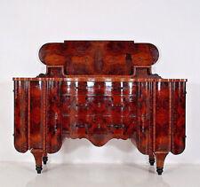 ART DECO Kredenz Buffet Sideboard Cabinet loupe de bois Burr Wood Italie