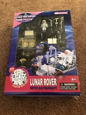 4D PUZZLE SPACE EXPLORER Lunar Rover With Astronaut 55 Pcs 8+