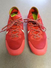 """Nike """"Free Hyperfeel"""" Coral Pink, Lightweight Trail Running Shoes Women's 9"""