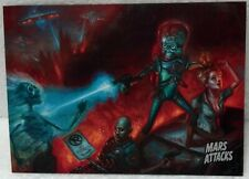 "2013 Topps Mars Attacks ""Invasion Begins"" #0 Promo card Eric Wilkerson art"