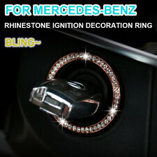 Rhinestone Car Ignition System Decoration Ring For Mercedes Benz E/C/GLK/CLS/GL