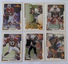2000 Upper Deck MVP Football Rookie RC 11 Card Lot (1 Silver Script)
