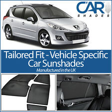 Peugeot 207 Estate 07-12 UV CAR SHADES WINDOW SUN BLINDS PRIVACY GLASS TINT