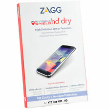 Genuine Zagg Invisible Shield Hd Dry Premium Protection For Htc One M10-HD