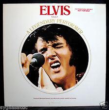 ELVIS PRESLEY-ELVIS VOLUME 1-A LEGENDARY PERFORMER-PROMO COPY-RCA #CPL1-0341