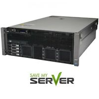 Dell PowerEdge R910 Server 4x 2.66GHz X7542 24 Cores 128GB RAM H200 iDRAC6 + RPS
