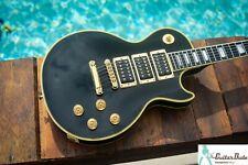 2000 Gibson Custom Shop Peter Frampton Les Paul Custom Ebony Finish