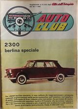 AUTO CLUB SUPPLEMENTO ALBI DELL INTREPIDO N.810 1961 2300 BERLINA SPECIALE
