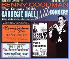 The Famous Carnegie Hall Jazz Concert 1938 [Box] by Benny Goodman (CD, Aug-2004,