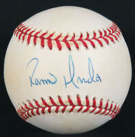 Ramiro Mendoza Autographed Signed Official MLB Baseball Yankees Red Sox