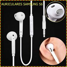 Auricular Blanco Cascos de 3.5mm Estereo para Telefono Tablet M MP3 MP4 MP5 iPod