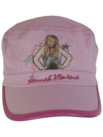 Disney Hannah Montana Girl's Pink Cadet Hat Sz. 4-7
