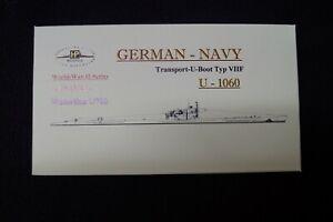 HP Models 1:700  WL  U-Boot  Typ VIIF   U-1060 -1943/44-