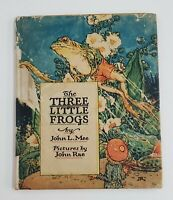 The Three Little Frogs John L. Mee The P.F. Volland Co. 13th Edition 1924 signed